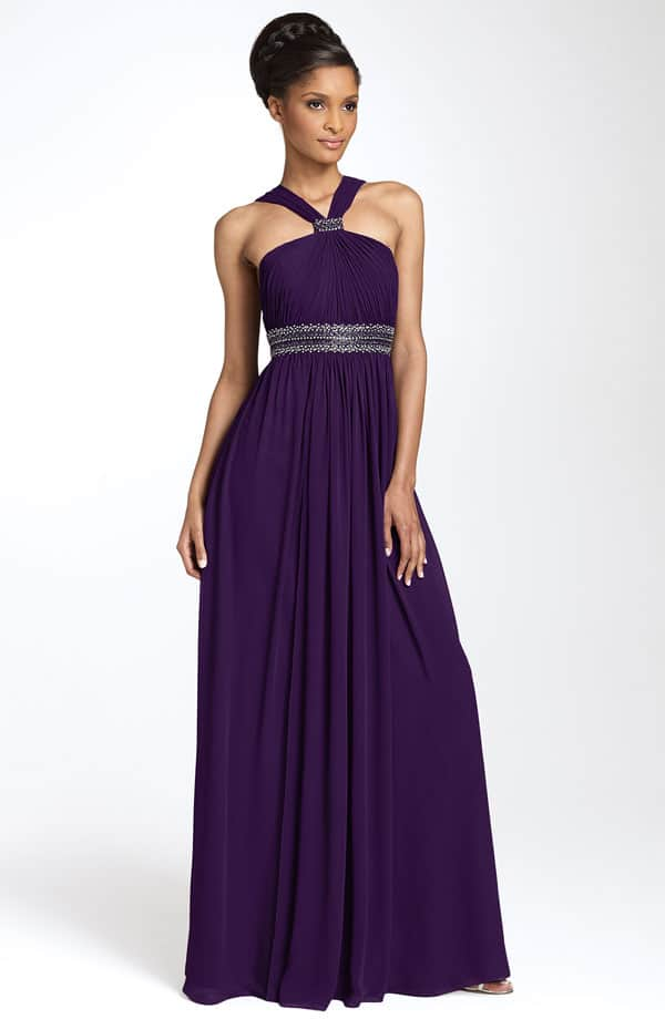 New Purple Bridesmaid Dresses Collection