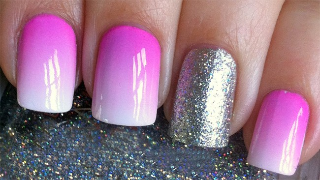 Ombre Nail Paint Designs for Women 2016
