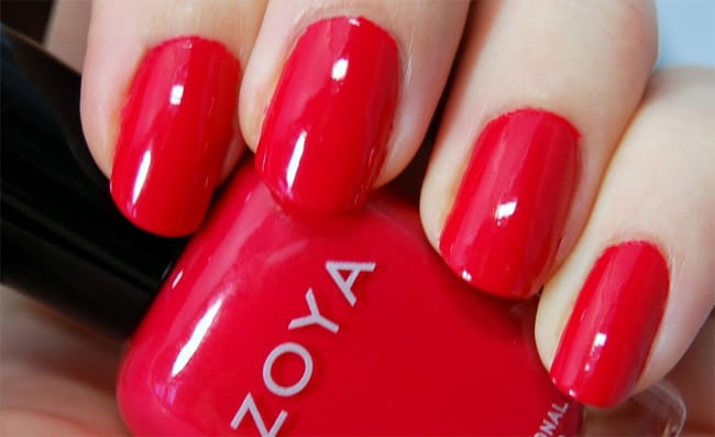 Outstanding Red Nail Painting Designs 2016