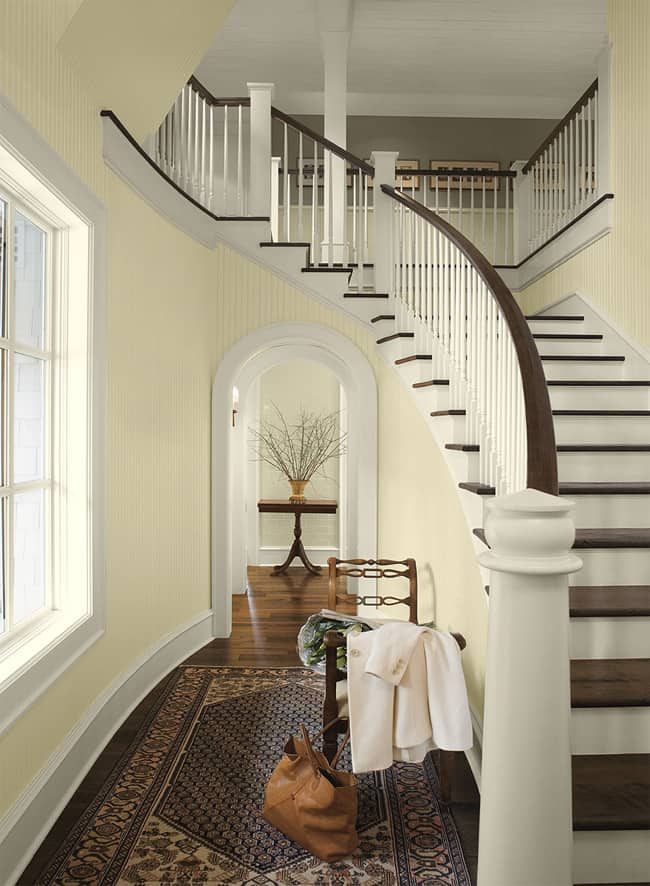 Paint Colors for Foyer and Hallway Pictures