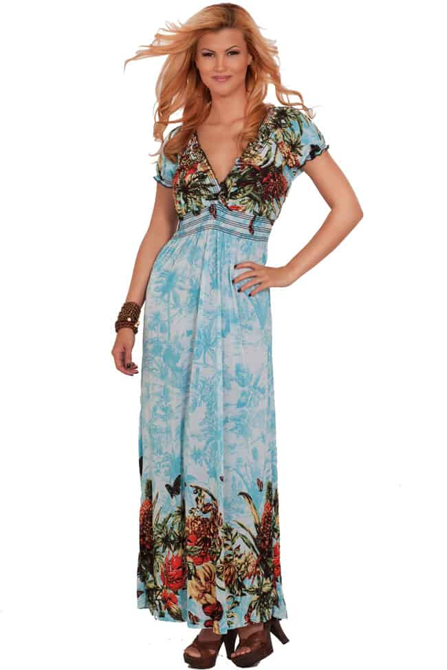 20 Beautiful Summer Maxi Dresses 2016 – SheIdeas