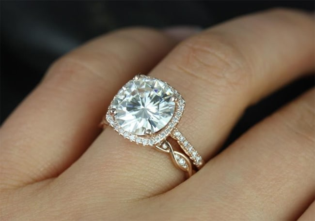 Round Engagement Rings With Cushion Halo 2016