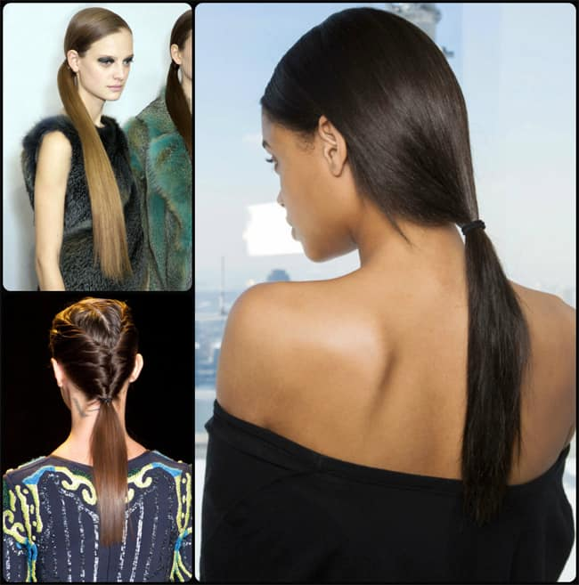 Runway Ponytail Hairstyles for Spring 2016