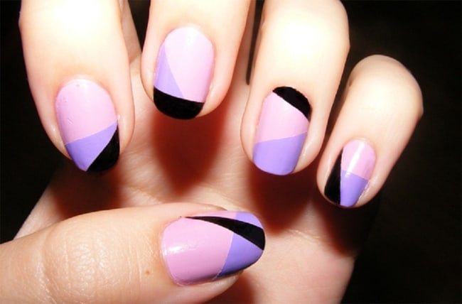 Simple Nail Paints Design for Girls 2016
