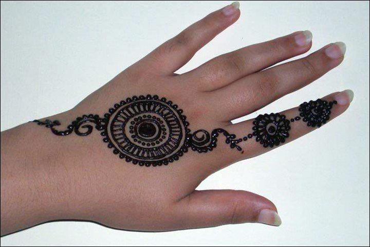 Mehndi Bracelet Designs 2016 : Stylish circle mehndi designs images sheideas