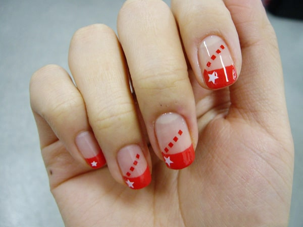 25 Beautiful And Simple Nail Art Designs Sheideas
