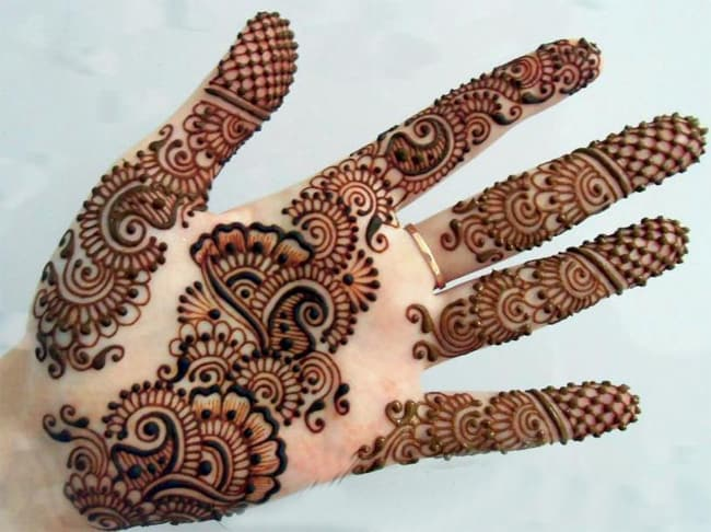 Simple and Latest Mehndi Designs for Hands