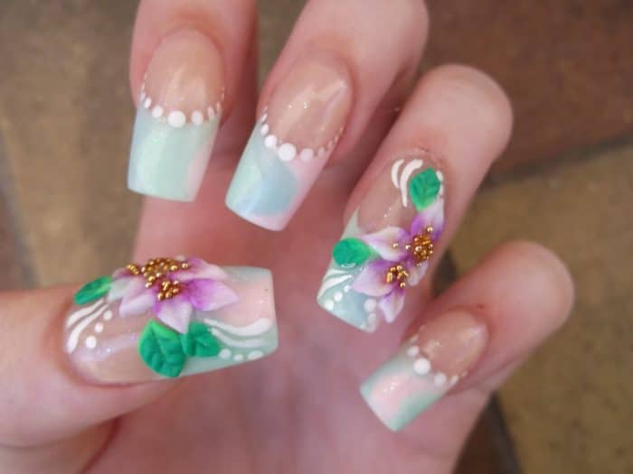 30 Cheerful 3d Nail Art Designs For Inspiration Sheideas