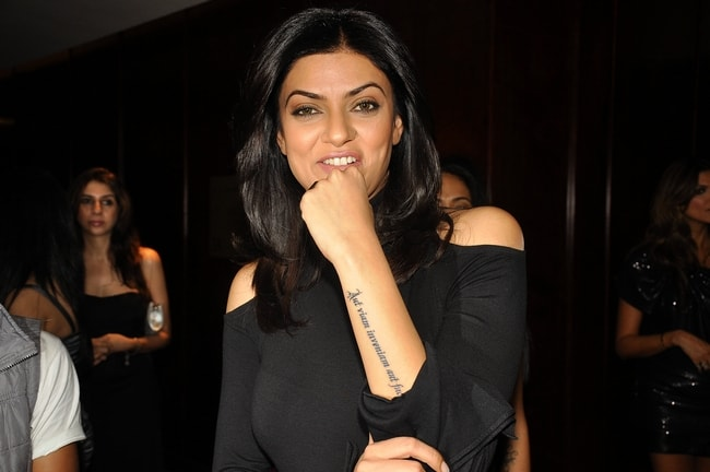 Sushmita Sen Tattoo Pictures for Women