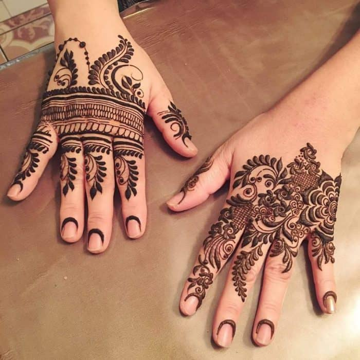 Mehndi Designs For Teenage Hands : Trendy mehndi patterns pictures for women sheideas