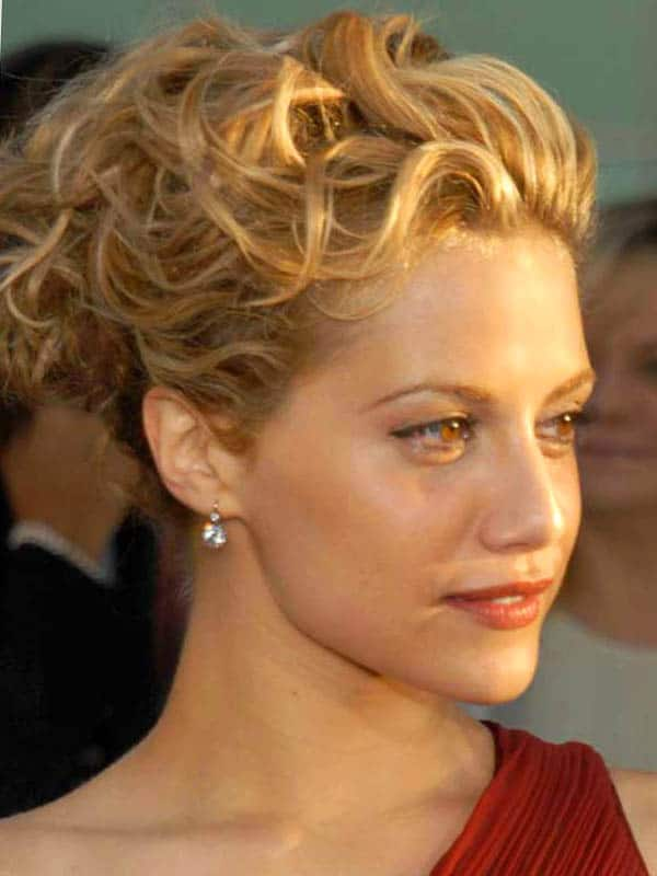 Trendy Curly Updos for Shoulder Length Hair