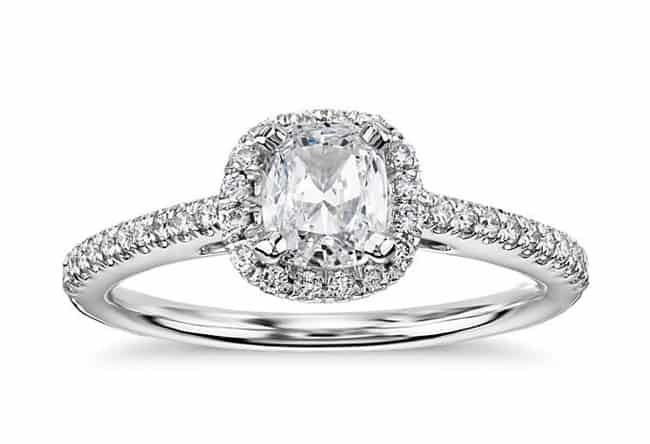 Trendy Cushion Cut Engagement Rings for Brides