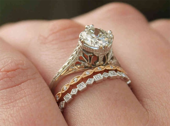 Vintage Style Diamond Wedding Rings 2016