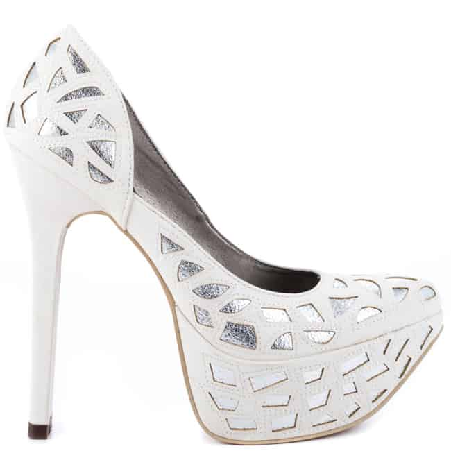 White Dress Shoes Women With High Heels