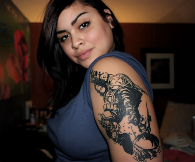 Awesome Sleeve Tattoo Ideas 2016 - SheIdeas