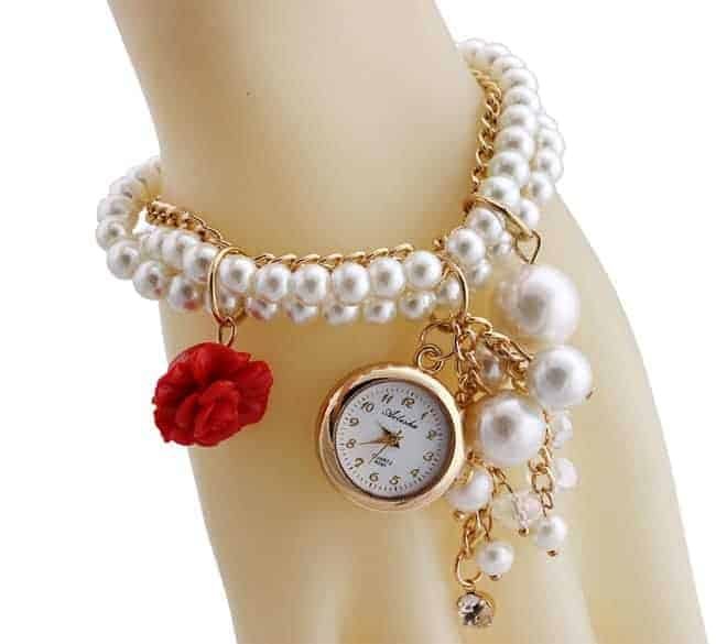 Women's Beaded Watches for Christmas