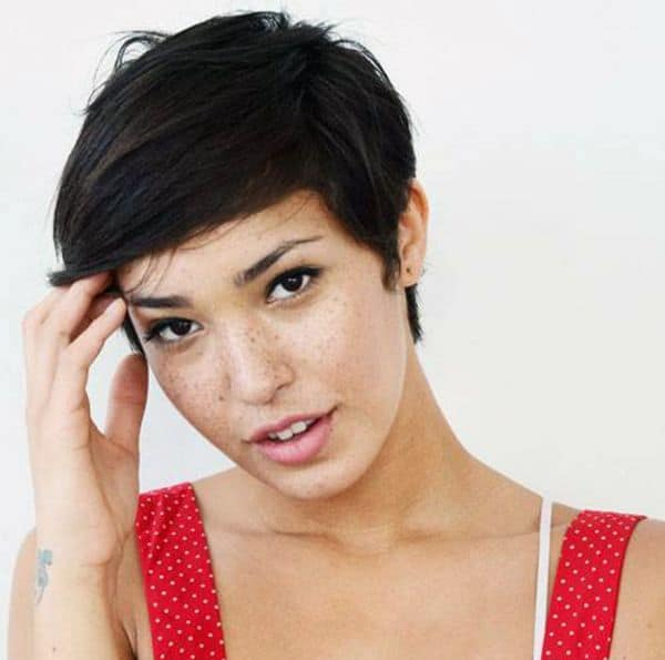 Simple Pixie Haircuts for Women