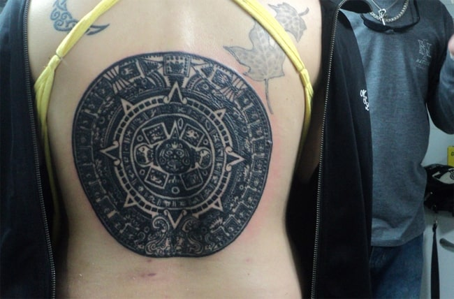 Amazing Aztec Tattoos Designs for Girls