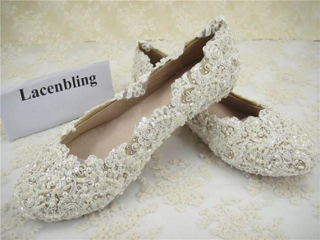 Amazing Lace Bridal Shoes For Summer