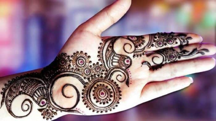 Designs Of Mehndi For Palm : Arabic mehndi designs on palm and fingers sheideas