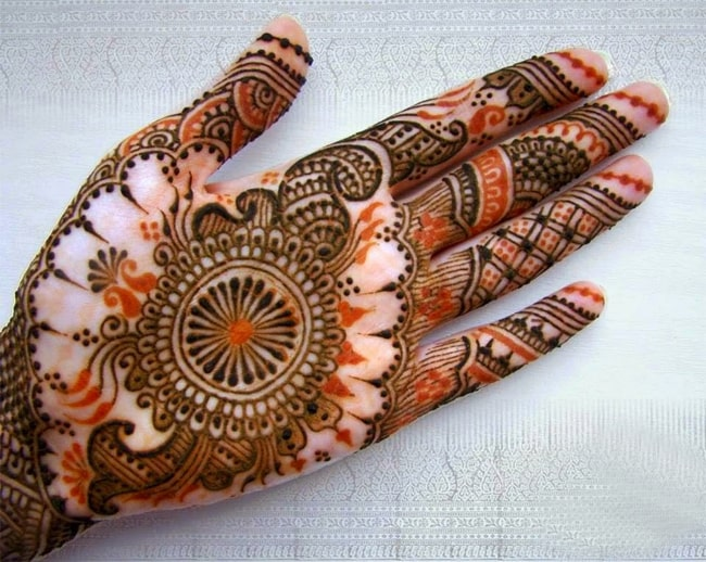 Awesome Arabic Mehndi Designs for Dulhan