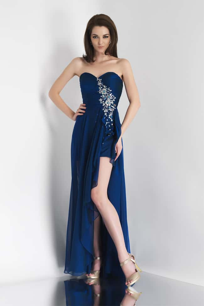 Awesome Blue Wedding Dresses Ideas