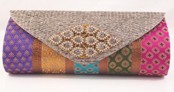 Awesome Multi Color Clutch Bag for Women