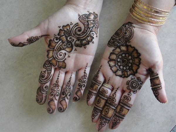 Mehndi Designs For Palm : Mehndi design for palm only makedes