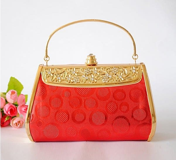Awesome Red Wedding Hand Bag 2016 - wedding handbags