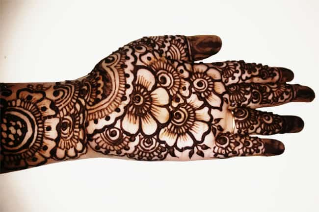 Beautiful Bridal Arabic Henna Designs Pictures