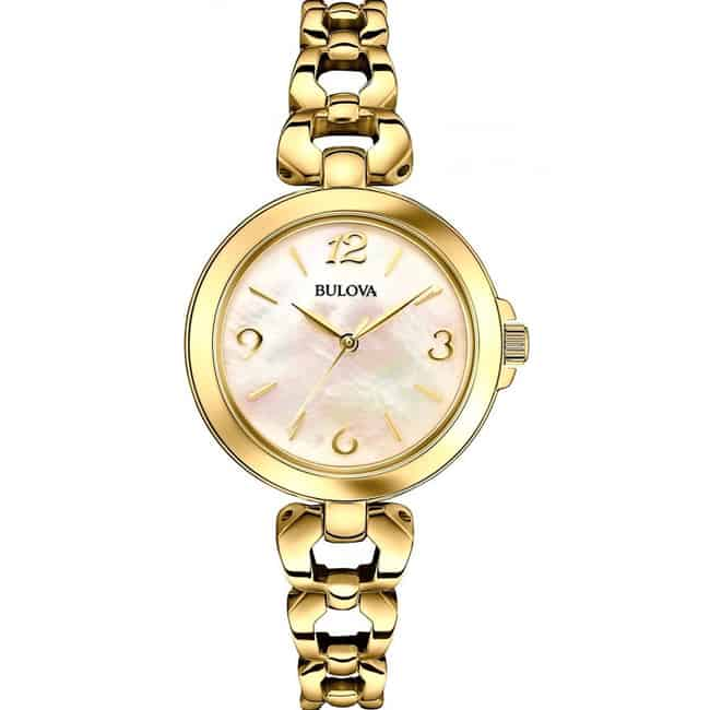 Beautiful Gold Steel Bracelet Watches