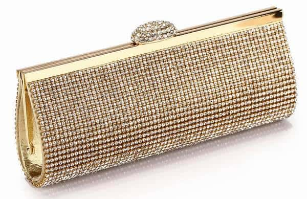 Beautiful Rhinestone Clutch Bags for Brides