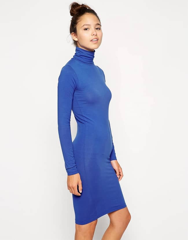 A Collection Of Elegant Turtleneck Dresses Sheideas