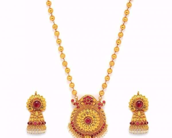 Bridal Golden Imitation Jewellery Ideas