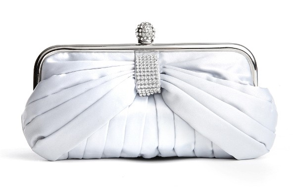Bridal White Handbags for Wedding - wedding handbags