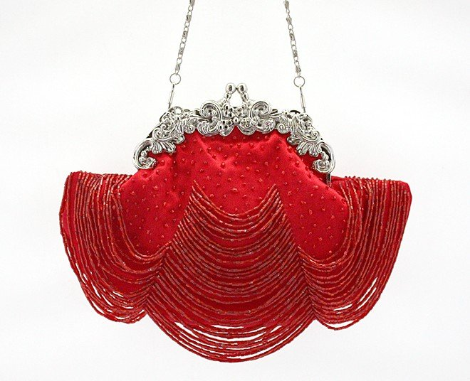 Buckle Beaded Evening Handbags for Brides
