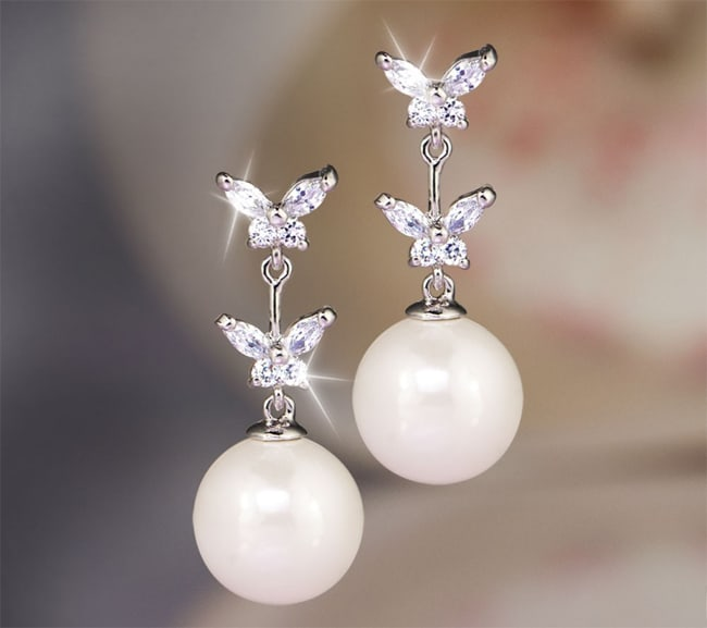 20 Mind Blowing Pearl Earrings 2019 Sheideas