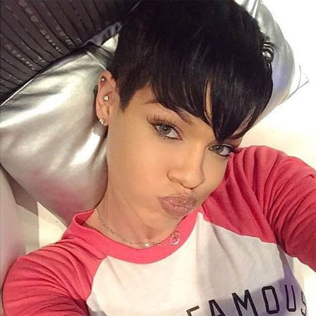 Celebrity Pixie Short Hairstyles With Bangs