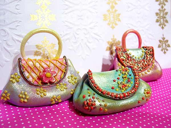 Colorful Bridal Marriage Handbags 2016-17 - wedding handbags