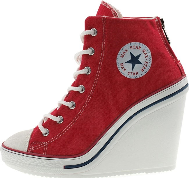 Cool High Wedge Heel Sneakers for Women