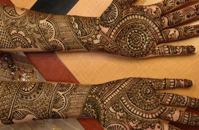 Cool Indian Mehndi Designs for Full Hands