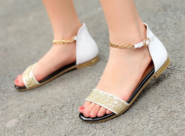 Cool Ladies Summer Flat Shoes