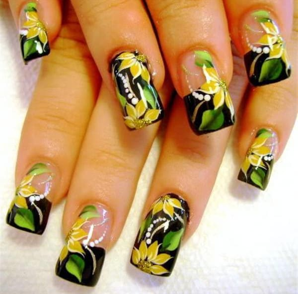 Creative Airbrush Nail Art Ideas 2016
