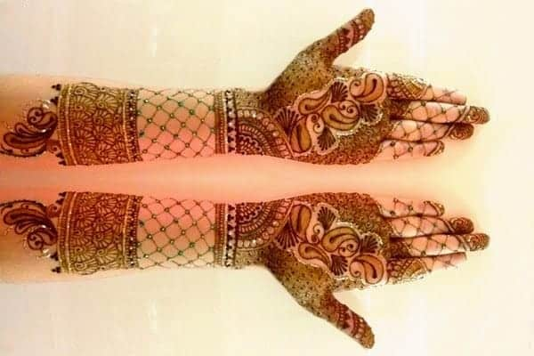 Creative Dulhan Henna Art Designs