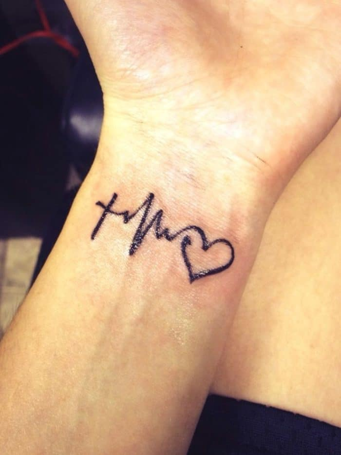 20 remarkable examples of meaningful tattoos sheideas for Small heart tattoos on wrist