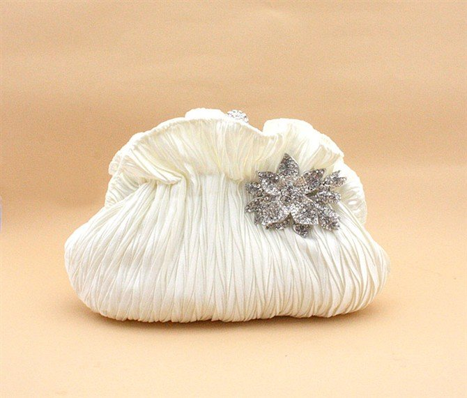 Crystal Wedding Clutch for Brides - wedding handbags