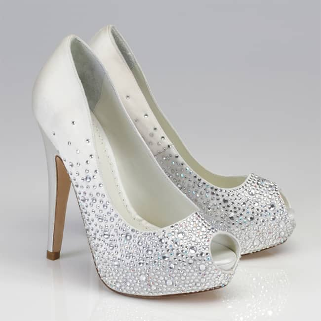 Crystal Wedding High Heel Shoes Fashion