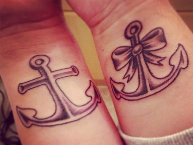 Cute Relationship Tattoos Ideas for Girls