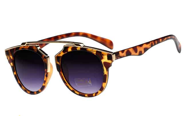 Elegant Leopard Print Sunglasses for Women