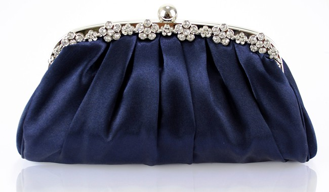 Elegant Navy Blue Clutch Evening Bags 2016